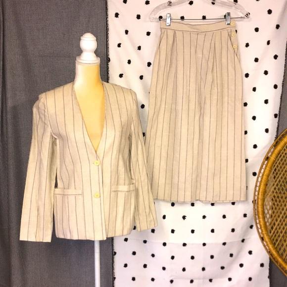 Vintage Bobbie Brooks Spring Skirt Suit
